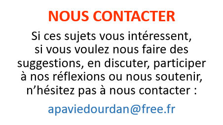 Contacter l'APAVIE